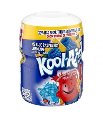 Kool-Aid Ice Blue Raspberry Lemonade Drink Mix Tub - 20oz (567g) Soda and Drinks Kool Aid