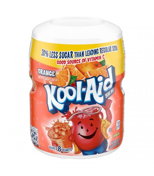 Kool Aid Orange Drink Mix Tub - 19oz (538g) Drink Mixes Kool Aid