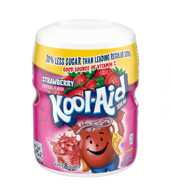Kool Aid Strawberry Drink Mix Tub - 19oz (538g) Drink Mixes Kool Aid