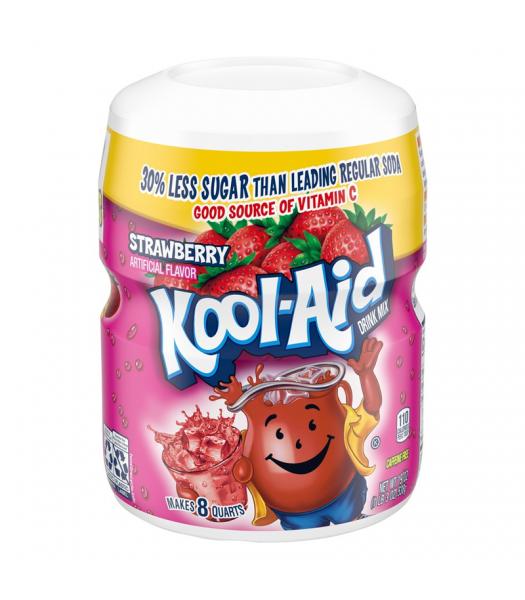 Kool Aid Strawberry Drink Mix Tub - 19oz (538g) Drink Mixes Kool Aid