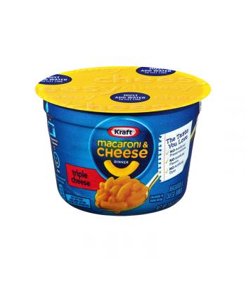 Kraft Easy Mac Cup Triple Cheese - 2.05oz (58g) Food and Groceries Kraft