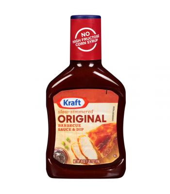 Kraft - Original Barbecue Sauce & Dip - 18oz (510g) Sauces & Condiments Kraft