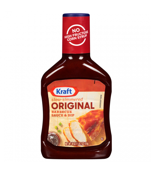 Kraft - Original Barbecue Sauce & Dip - 18oz (510g) Sauces & Condiments Kraft