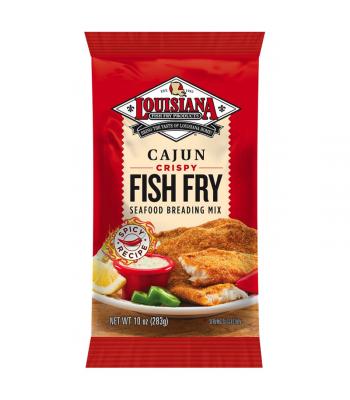 Louisiana Fish Fry Products Cajun Fish Fry 10oz (283g)