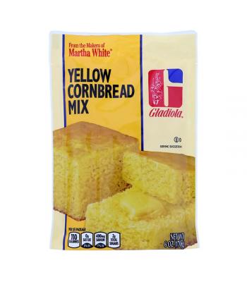 Martha White Gladiola Yellow Cornbread & Muffin Mix - 6oz (184g) Food and Groceries Martha White
