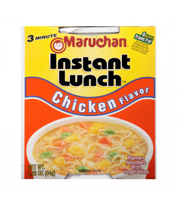 Maruchan Instant Lunch Chicken Flavour Ramen Noodles 2.25oz (64g) Cup Food and Groceries Maruchan