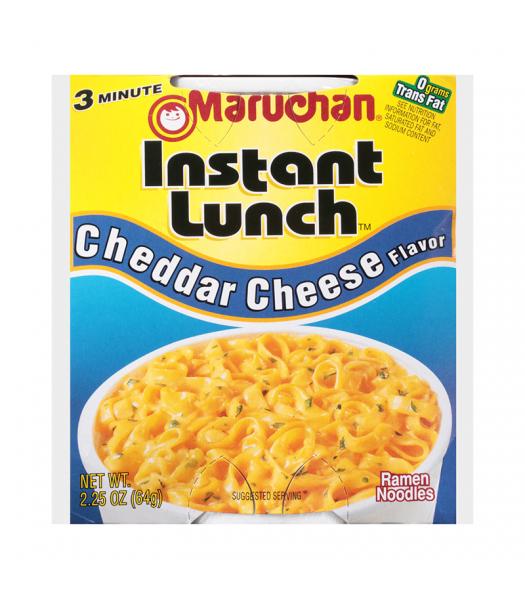 Maruchan - Cheddar Cheese Flavor Instant Lunch Ramen Noodles - 2.25oz (64g) Pasta & Noodles Maruchan