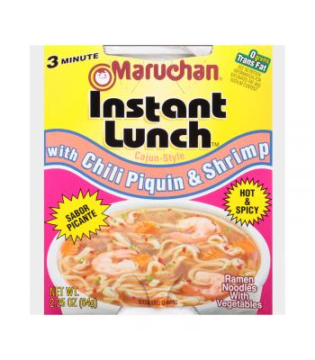 Maruchan Instant Lunch Chili Piquin & Shrimp Flavour Ramen Noodles 2.75oz (64g) Cup Pasta & Noodles Maruchan