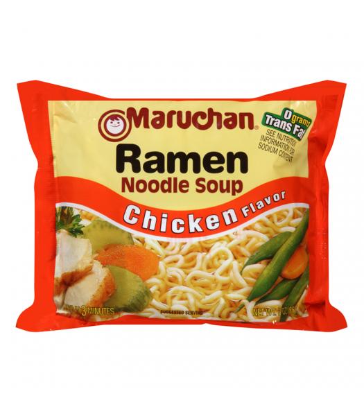 Maruchan - Chicken Flavor Ramen Noodles - 3oz (85g) Pasta & Noodles Maruchan