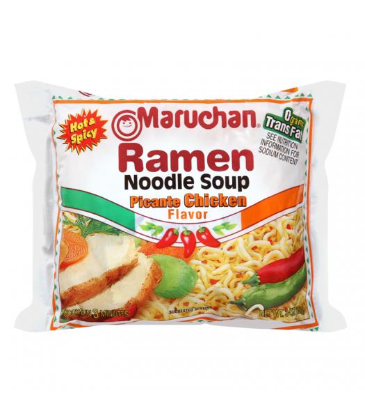 Maruchan Ramen Noodles - Picante Chicken Flavour - 3oz (85g) Pasta & Noodles Maruchan