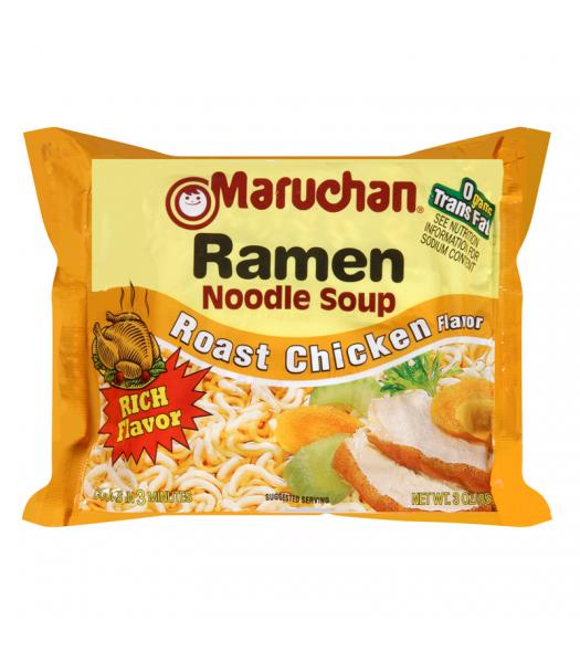 Maruchan Ramen Noodles - Roast Chicken Flavour - 3oz (85g) Pasta & Noodles Maruchan