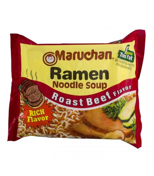 Maruchan Ramen Noodles - Roast Beef Flavour - 3oz (85g) Pasta & Noodles Maruchan