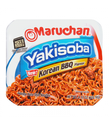 Maruchan Korean BBQ Yakisoba Noodles 4.12oz (116.9g) Food and Groceries Maruchan