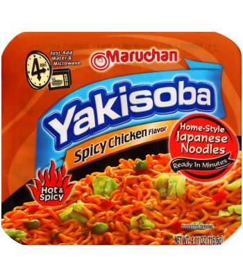 Maruchan Yakisoba Noodles - Spicy Chicken 4oz (113g) Food and Groceries Maruchan