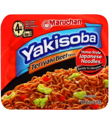 Maruchan Yakisoba Noodles - Teriyaki Beef 4oz (113g) Food and Groceries Maruchan