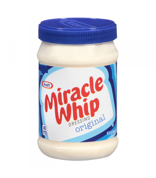 Miracle Whip Regular 15oz (425g) Syrups & Toppings Miracle Whip
