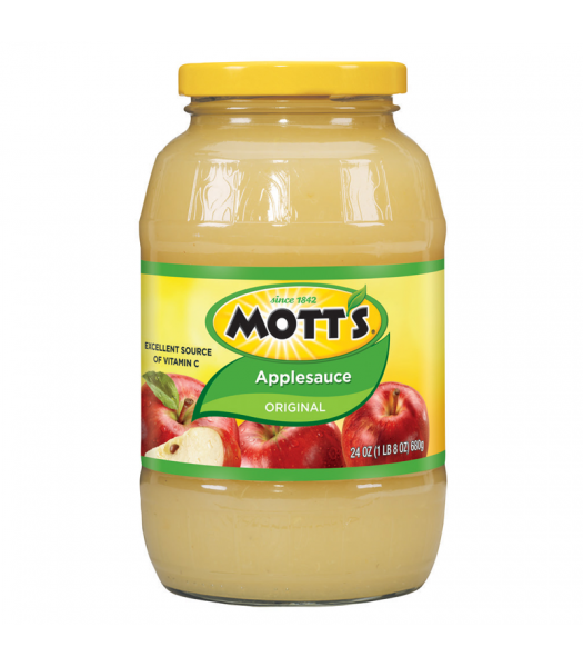 Motts Original Apple Sauce 24oz (680g) Baking & Cooking Mott's