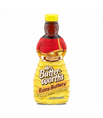 Mrs Butterworth Extra Buttery Pancake Syrup - 24oz (710ml) Food and Groceries
