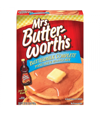 Mrs Butterworth Buttermilk Complete Pancake Mix 32oz (907g) Food and Groceries