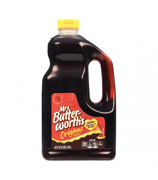 Mrs Butterworth Original Pancake Syrup HUGE Bottle 64oz (1.89 ltr)