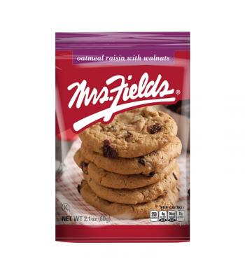 Mrs Fields Oatmeal Raisin with Walnuts Cookies - 2.1oz (60g)