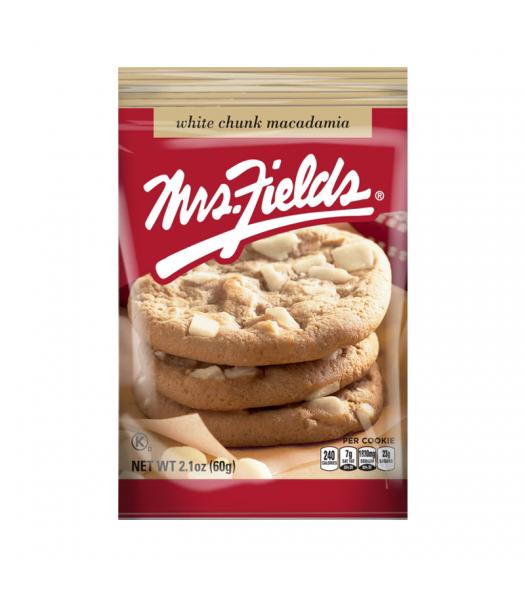 Mrs Fields White Chunk Macadamia Cookies - 2.1oz (60g) Cookies and Cakes