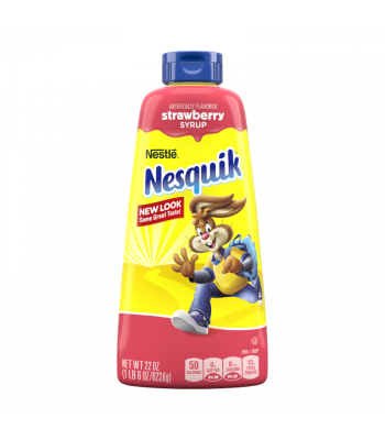 Nesquik Strawberry Syrup - 22oz (623.6g) Food and Groceries