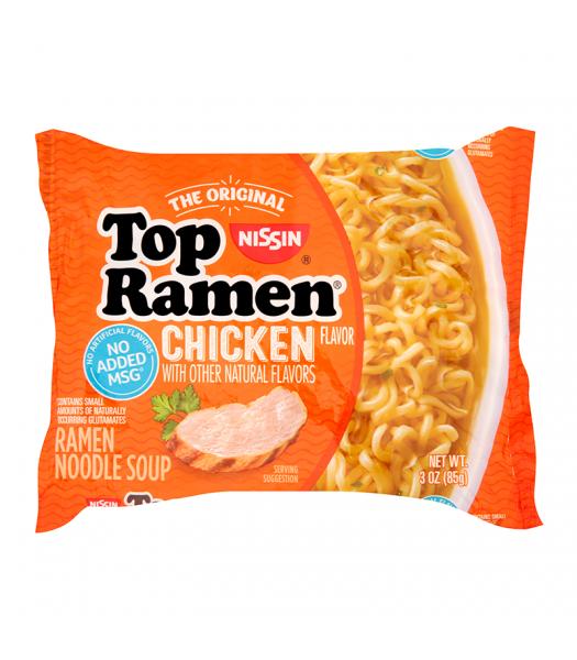 Nissin Top Ramen Chicken - 3oz (85g) Food and Groceries