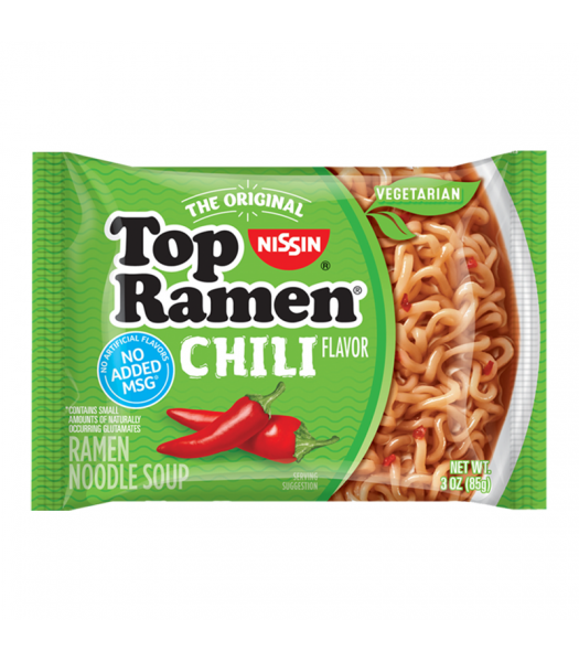 Nissin Top Ramen Chili - 3oz (85g) Food and Groceries