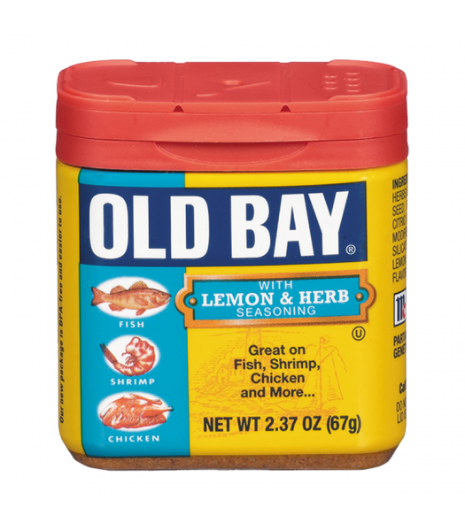 Old Bay Lemon & Herb Seasoning 2.37oz (67g) Food and Groceries Old Bay