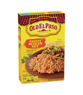 Old El Paso Cheesy Mexican Rice - 7.6oz (215g) Food and Groceries