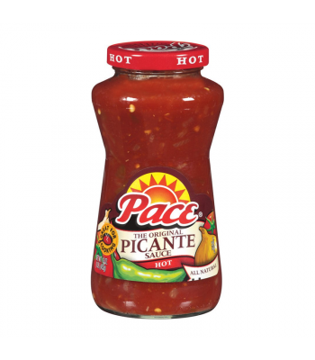 Pace Hot Picante Sauce - 16oz (453g) Food and Groceries
