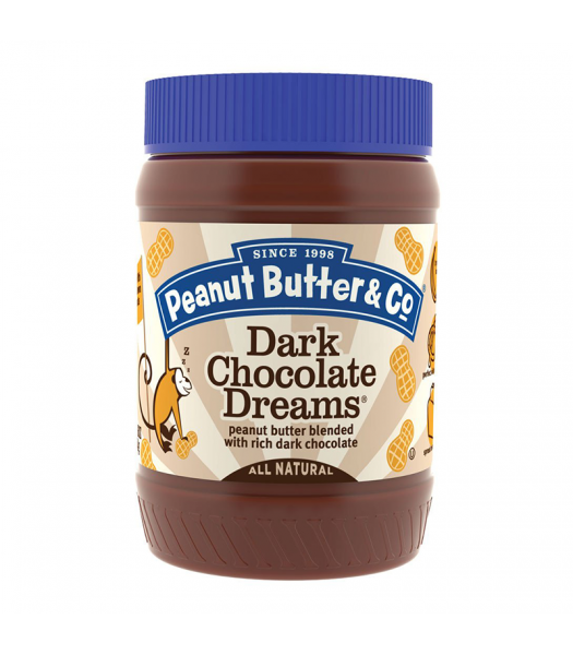 PB & Co Dark Chocolate Dreams Peanut Butter 16oz (454g) Food and Groceries