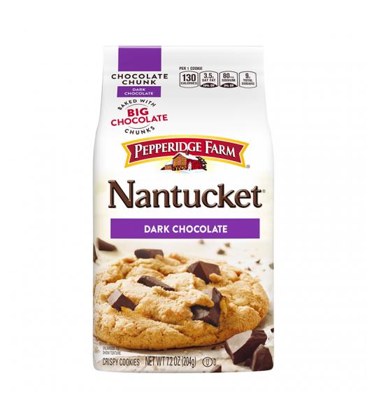 Pepperidge Farm Nantucket Dark Chocolate Cookies - 7.2oz (204g) Cookies and Cakes Pepperidge Farm