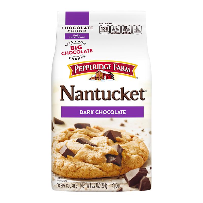 Pepperidge Farm Nantucket Dark Chocolate Cookies 7 2oz 204g American Fizz