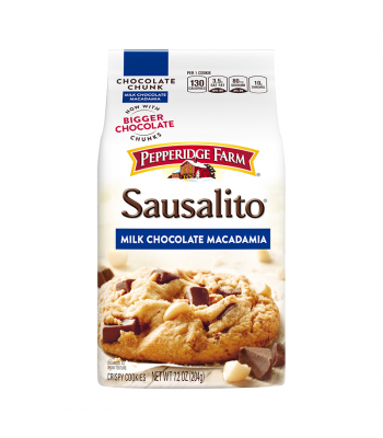 Pepperidge Farm Milk Chocolate Chunk Macadamia Cookies 7.2oz (204g) Cookies and Cakes Pepperidge Farm