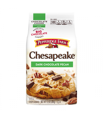Pepperidge Farm Chesapeake Dark Chocolate Pecan Cookies - 7.2oz (204g) Cookies and Cakes Pepperidge Farm