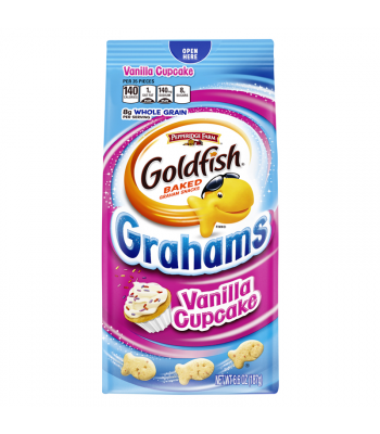 Pepperidge Farm Goldfish Grahams Vanilla Cupcake Flavour - 6.6oz (187g) Snacks and Chips Pepperidge Farm