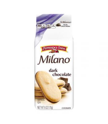 Pepperidge Farm Milano Dark Chocolate Cookies - 6oz (170g) Cookies and Cakes