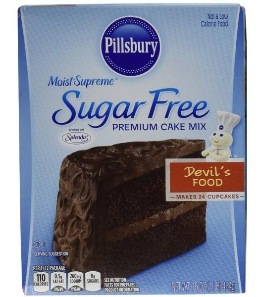 Pillsbury Sugar Free Moist Supreme Devil's Food Cake Mix 16oz (454g) Food and Groceries Pillsbury