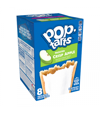 Pop Tarts - Frosted Crisp Apple 8-Pack - 13.5oz (384g) Cookies and Cakes Pop Tarts
