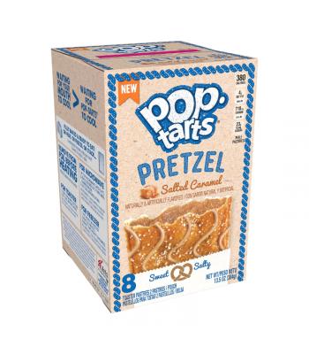 Pop Tarts - Pretzel Salted Caramel 8-Pack - 13.5oz (384g) Cookies and Cakes Pop Tarts