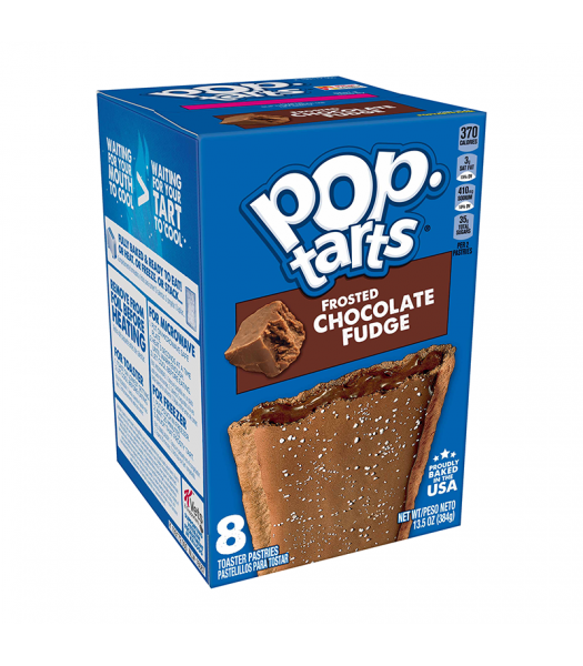 Pop Tarts - Frosted Chocolate Fudge - 8 Pack 13.5oz (384g) Cookies and Cakes Pop Tarts