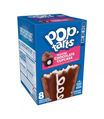 Pop Tarts Frosted Chocolate Cupcake 8-Pack 13.5oz (384g) Cookies and Cakes Pop Tarts