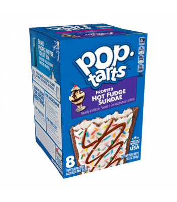 Pop Tarts - Frosted Hot Fudge Sundae 8-Pack - 13.5oz (384g) Cookies and Cakes Pop Tarts