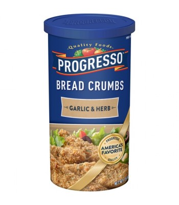Progresso Garlic and Herb Bread Crumbs 15oz (425g) Food and Groceries