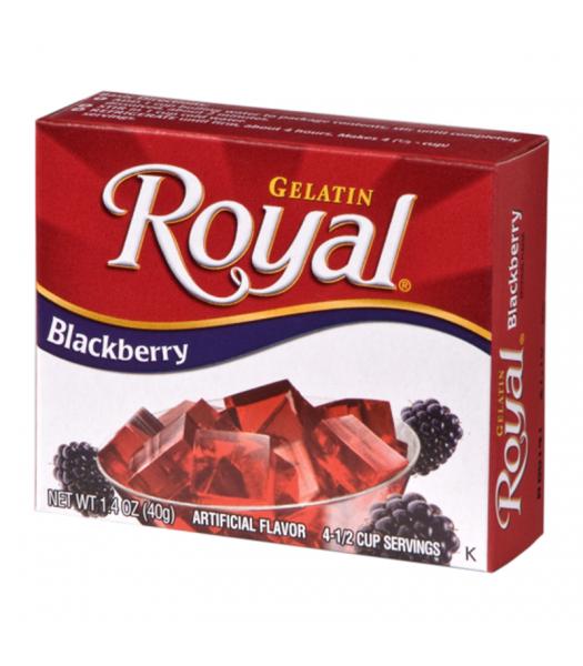 Royal Gelatin - Blackberry - 1.4oz (40g) Food and Groceries Royal