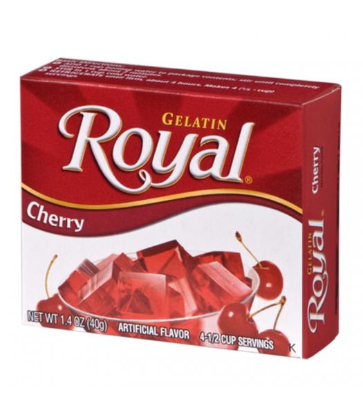 Royal Gelatin - Cherry - 1.4oz (40g) Food and Groceries Royal