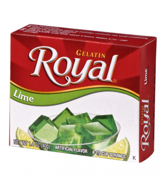 Royal Gelatin - Lime - 1.4oz (40g) Food and Groceries Royal