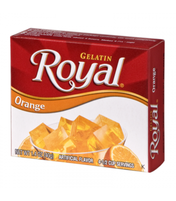 Royal Gelatin - Orange - 1.4oz (40g) Food and Groceries Royal